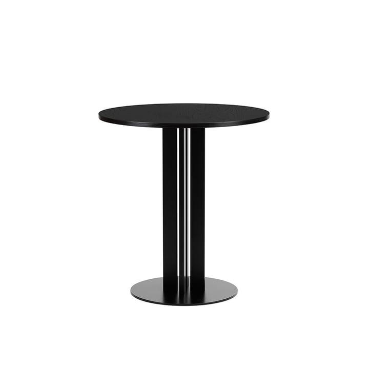 Scala Table Ø 70 x H 75 cm from Normann Copenhagen in oak black