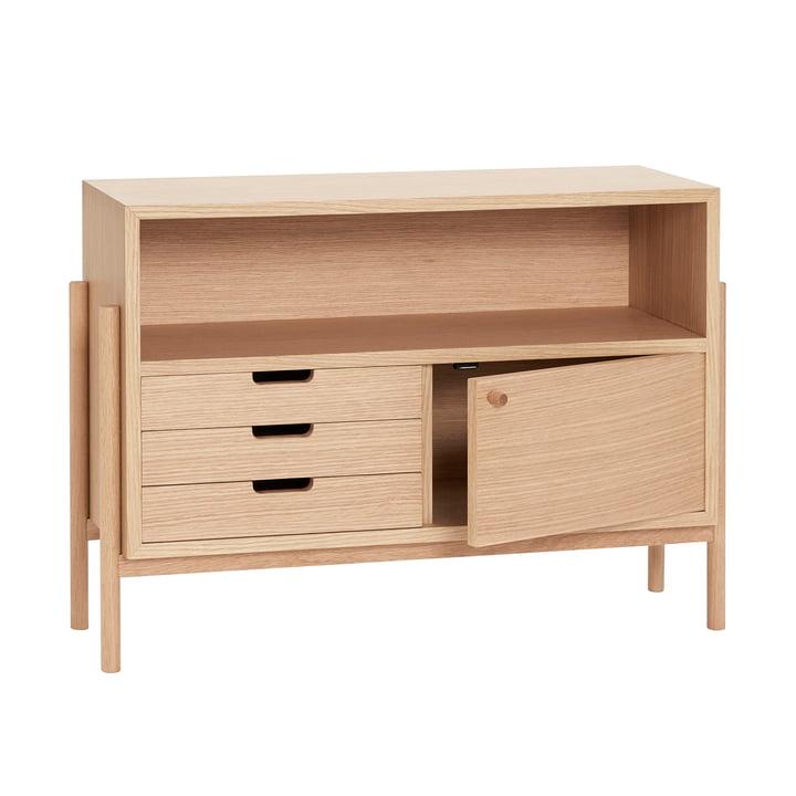Chest of drawers, oak from Hübsch Interior