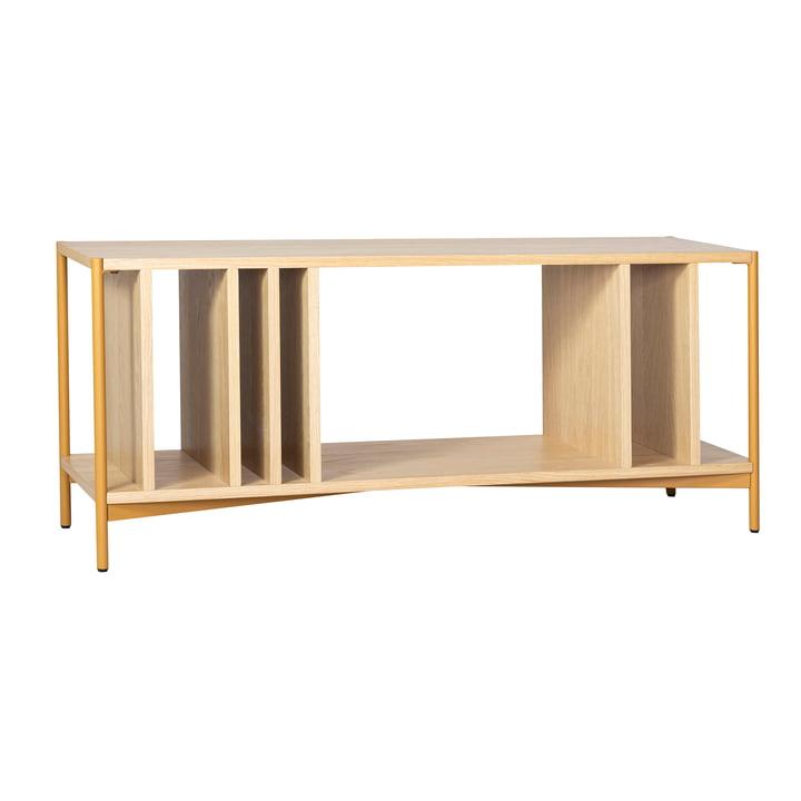 Open chest of drawers, nature / orange from Hübsch Interior