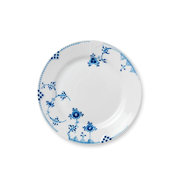 Elements Blue Flat Plate from Royal Copenhagen