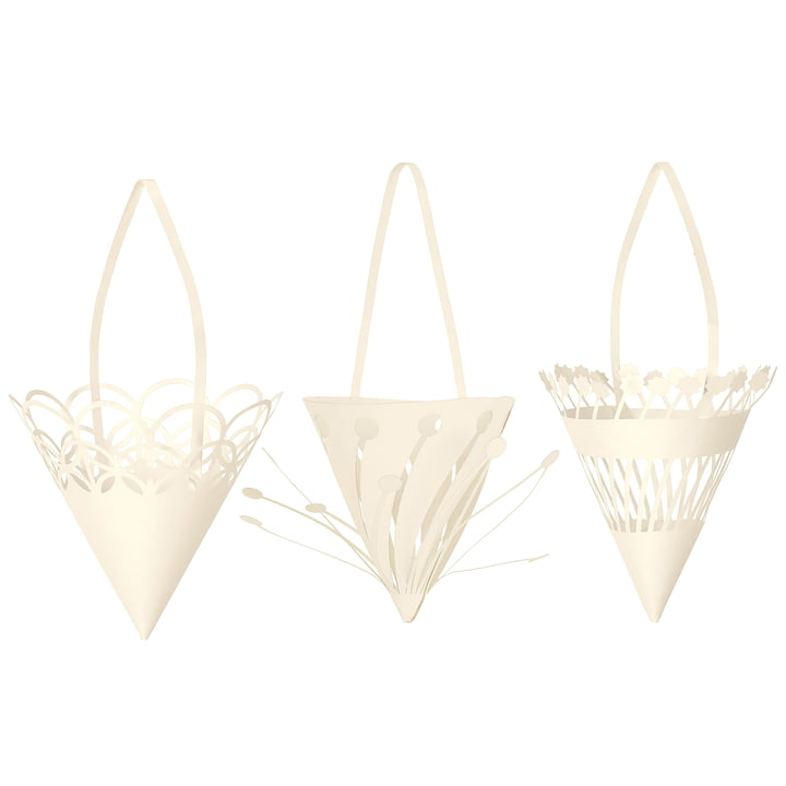 Paper Christmas tag Cones by ferm Living
