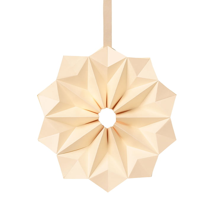Paper star by ferm Living in the color off-white