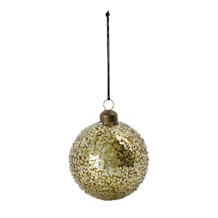 Chosen Christmas tree ball from House Doctor in the color gold