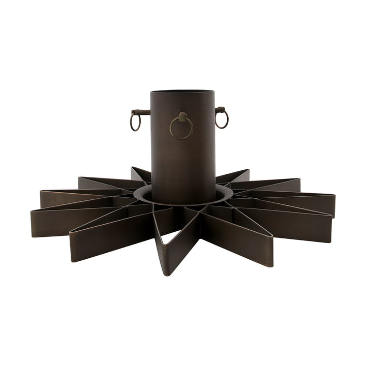 House Doctor Christmas tree stand in the colour antique brown