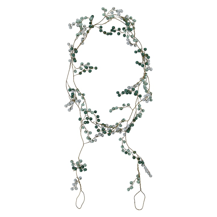 Bead Handmade garland from House Doctor in color green