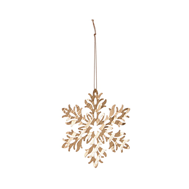 Decorative pendant ice flower from House Doctor made of brass
