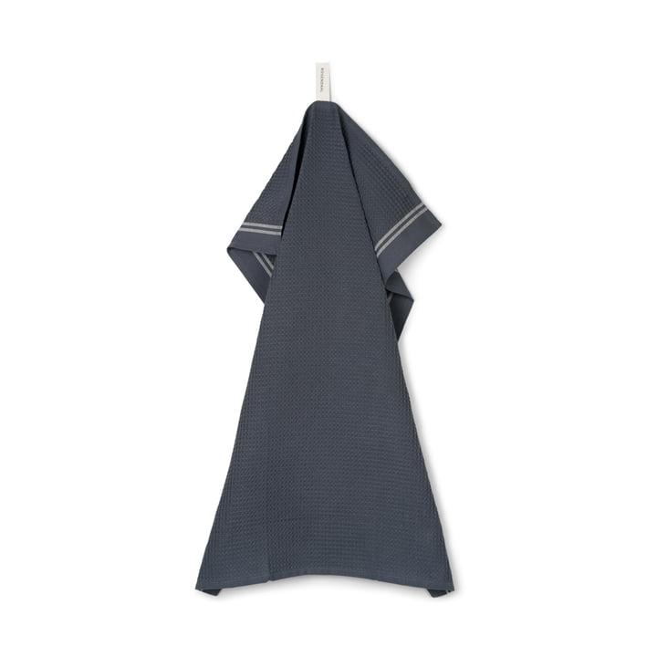 Tea towel Alpha from Rosendahl in color darkgrey