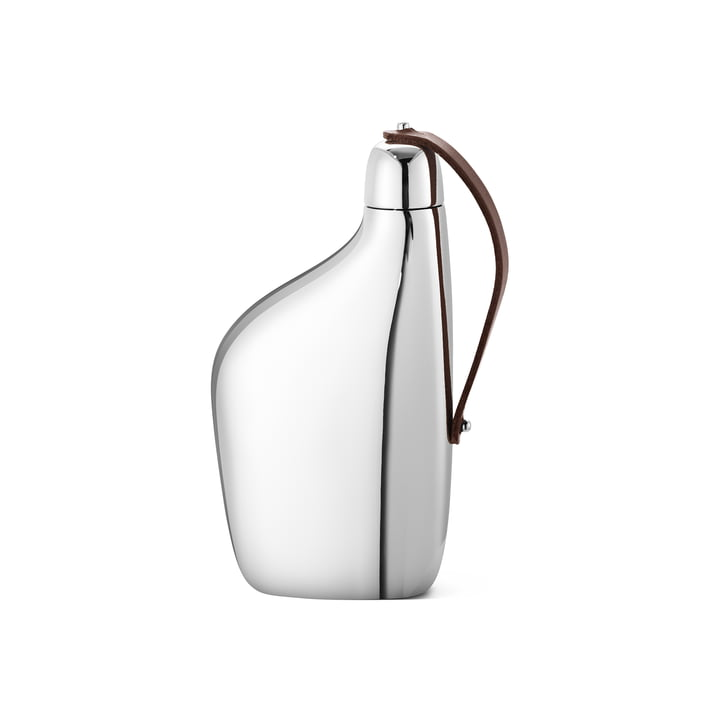 Sky Hip flask 15 cl from Georg Jensen in stainless steel