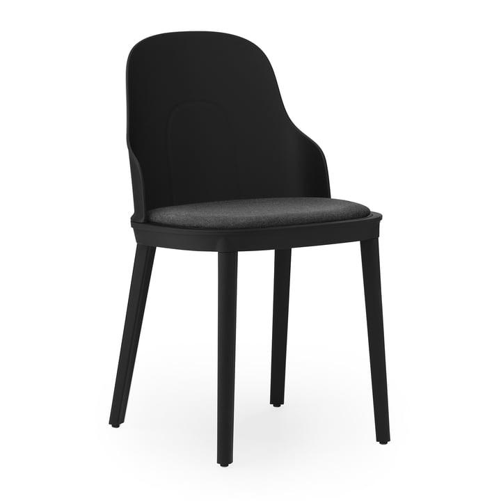Allez Chair upholstered canvas from Normann Copenhagen in black