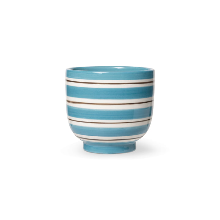 Omaggio Nuovo Cachepot by Kähler Design in color blue