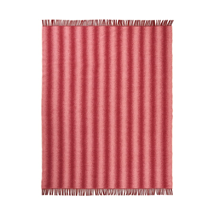 Tide Bedspread from Schneid in burgundy & blush