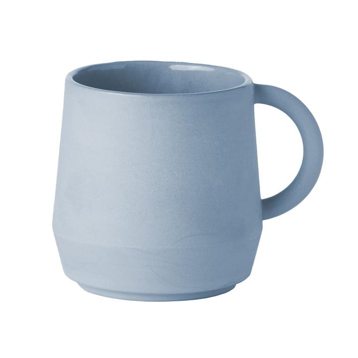 Unison ceramic mug from Schneid in baby blue