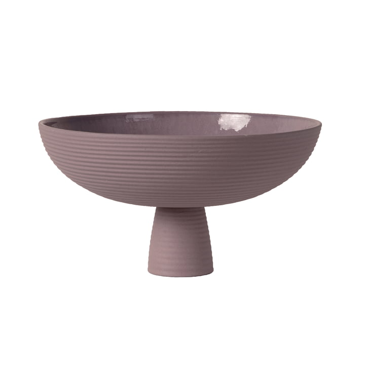 Dais Bowl with foot from Schneid in lavender