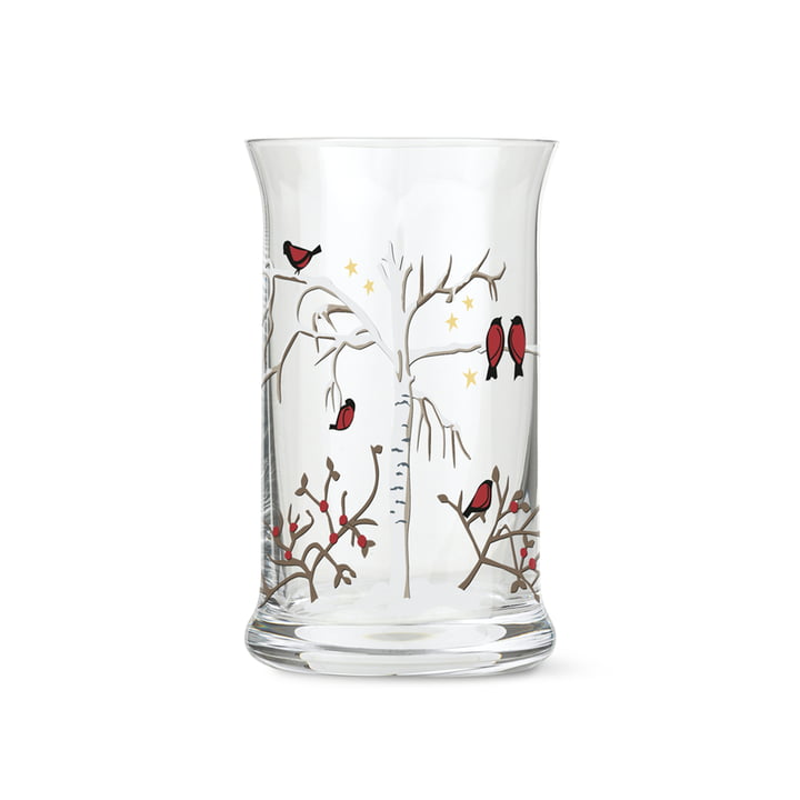 Christmas water glass from Holmegaard