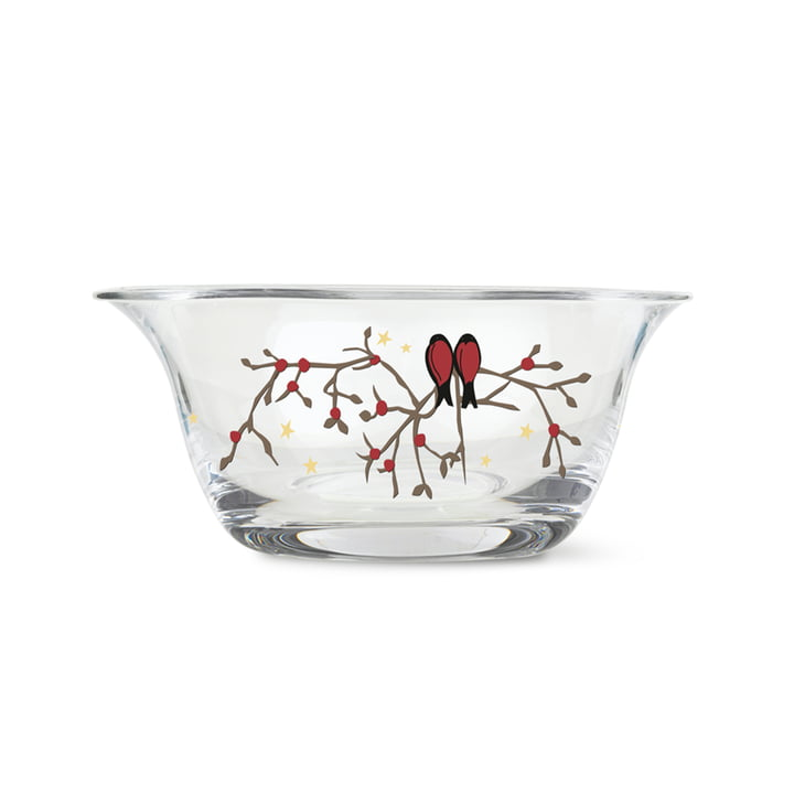 Christmas bowl 2021 Ø 12,5 cm from Holmegaard in clear