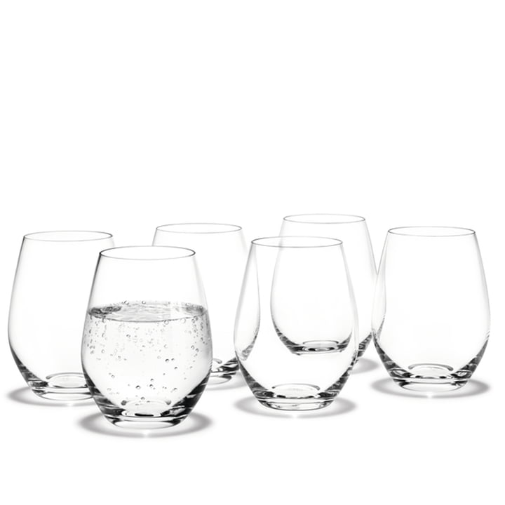 Cabernet Water glasses from Holmegaard