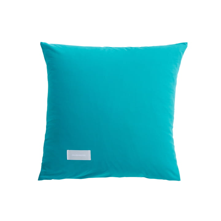Pure Pillowcase Poplin 80 x 80 cm from Magniberg in aqua green