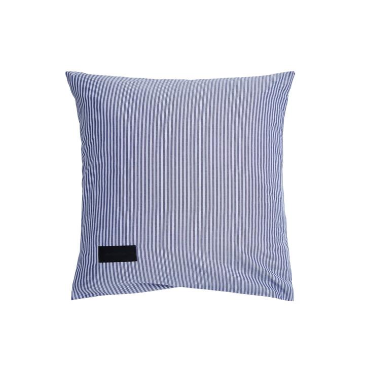 Wall Street Pillowcase, Oxford 80 x 80 cm, stripe dark blue by Magniberg
