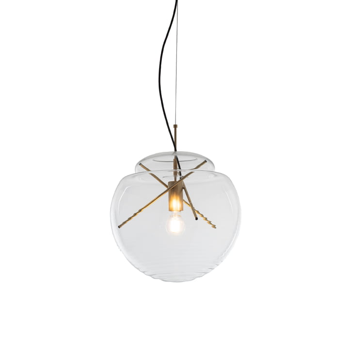 Vitruvio Pendant light from Artemide in brass