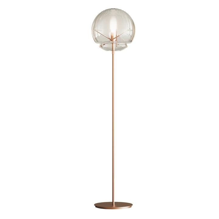 Vitruvio Floor lamp from Artemide in brass