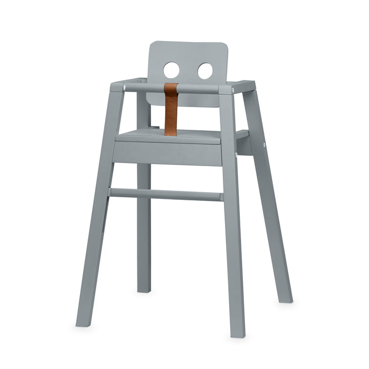 Robot High chair, H 80,5 cm, grey from Nofred