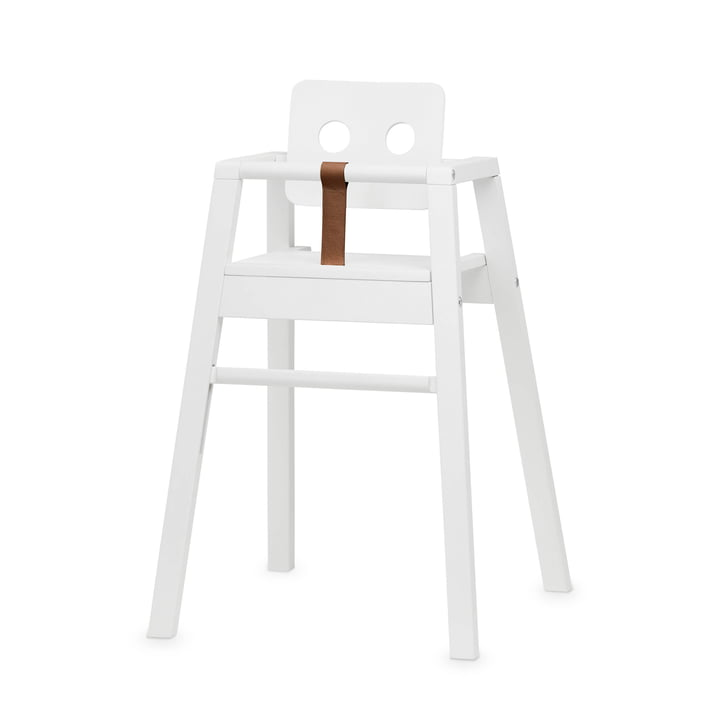 Robot High chair, H 80,5 cm, white from Nofred