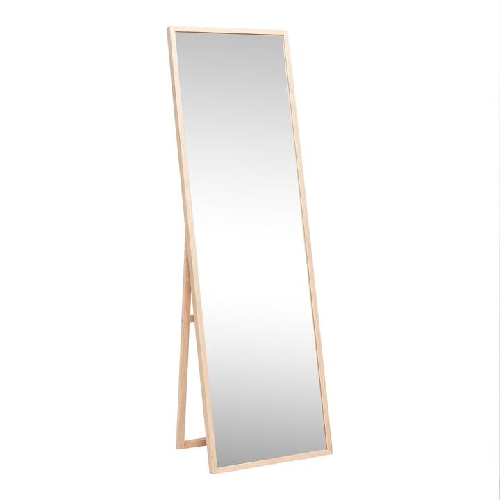 Standing mirror 52 x 167 cm, natural oak from Hübsch Interior