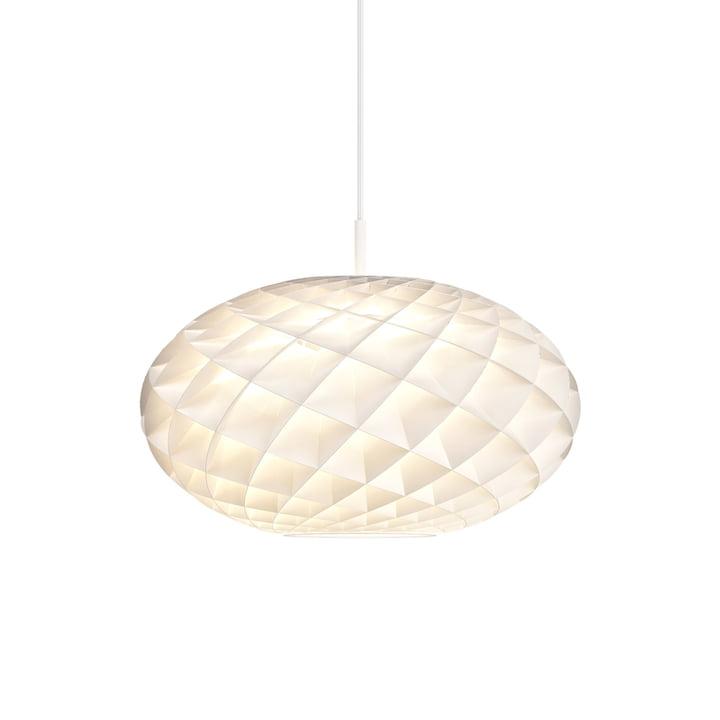 Patera Pendant light oval Ø 50 cm from Louis Poulsen in white