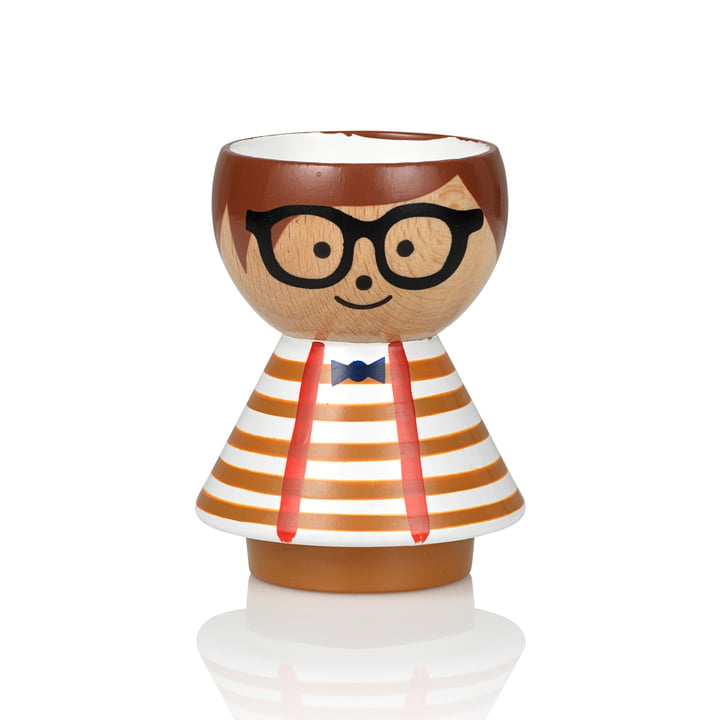 Bordfolk Egg cup boy from Lucie Kaas in Alfie