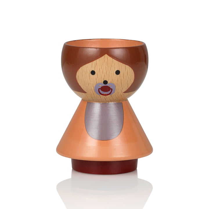 Bordfolk Egg Cup Girl from Lucie Kaas in Baby Girl