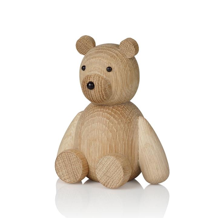 Teddy Wooden figure H 13.5 cm from Lucie Kaas in oak