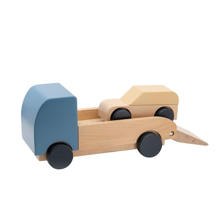 Car transporter with car from Sebra