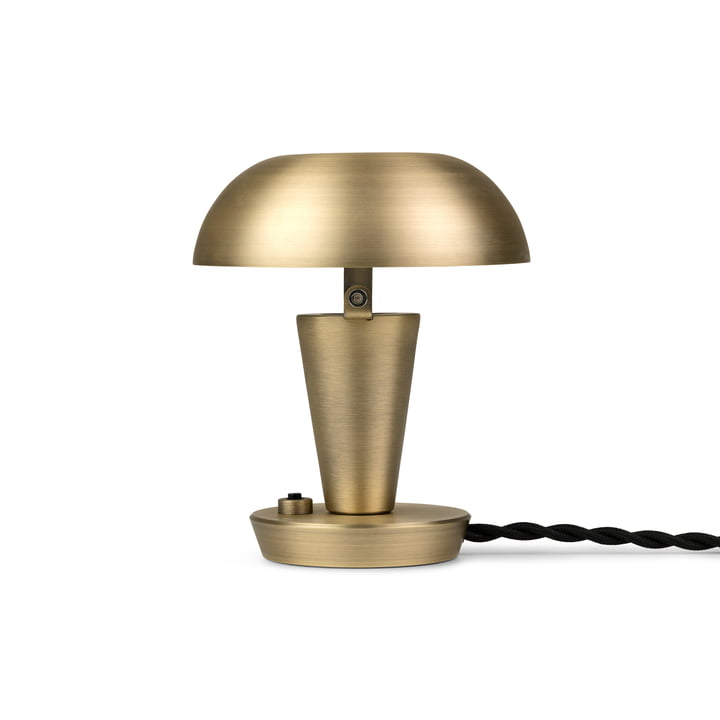 Tiny Table lamp by ferm Living in the brass finish