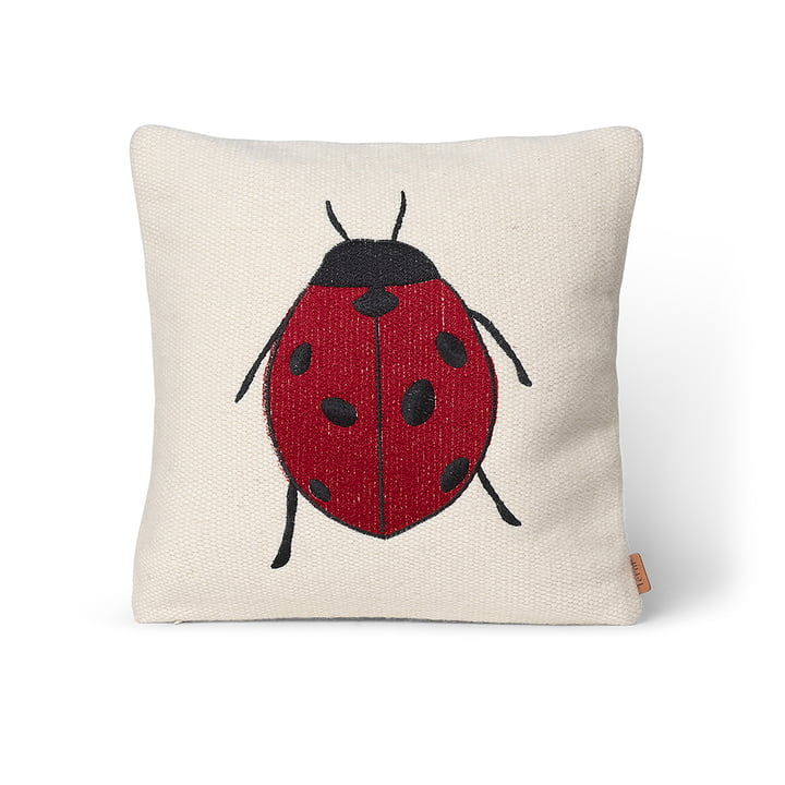 Forest Stick -cushion from ferm Living in the design ladybird