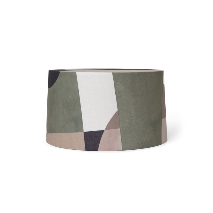 Entire lampshade by ferm Living in the multicoloured short version