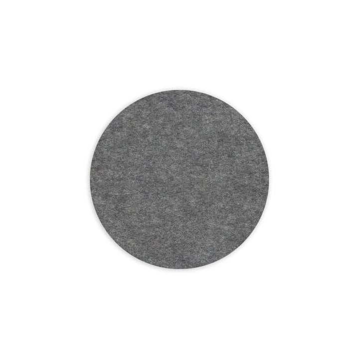 Hey Sign - Trivet round, anthracite