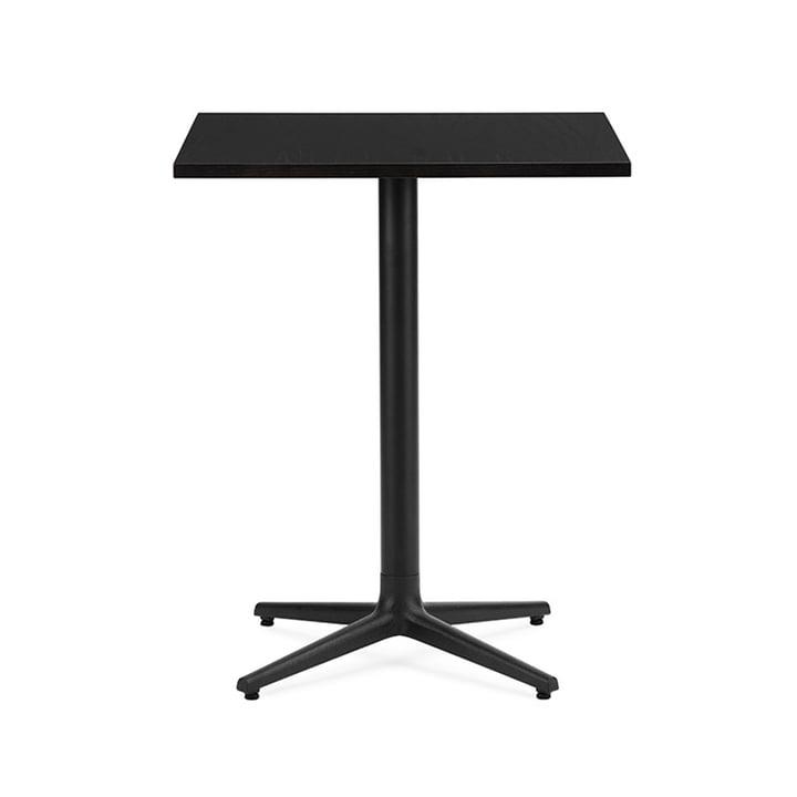 Allez Table 4L H 75 60 x 60 cm from Normann Copenhagen in black oak