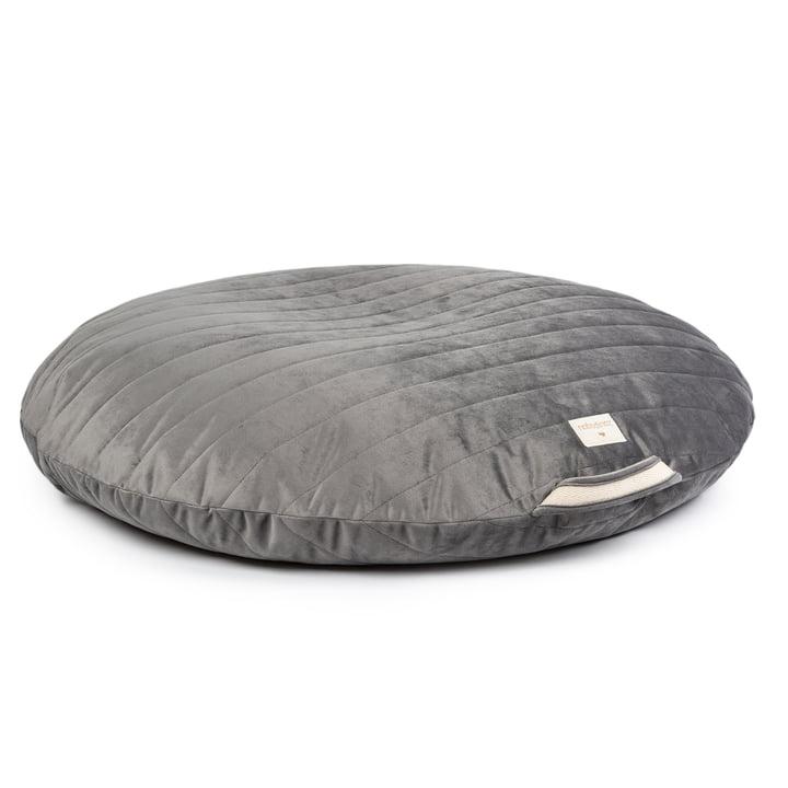 Sahara Floor cushion by Nobodinoz in the colour slate grey