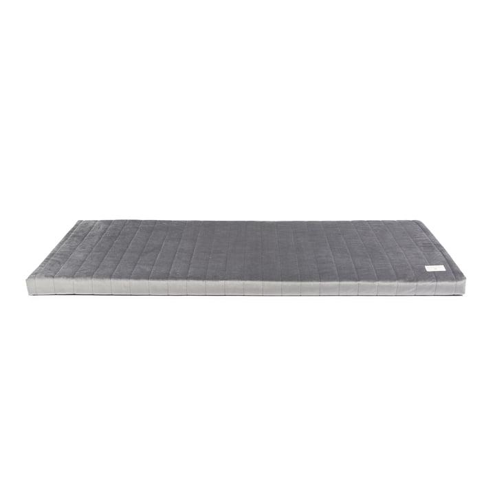 Zanzibar Play mattress from Nobodinoz slate grey
