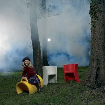 Kinderstuhl und Wippe Trioli