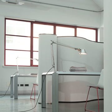Cartoons Room Divider by Baleri Italia in a Workspace