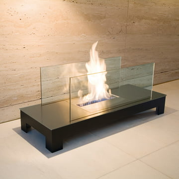 Radius Design - Floor Flame - stainless steel