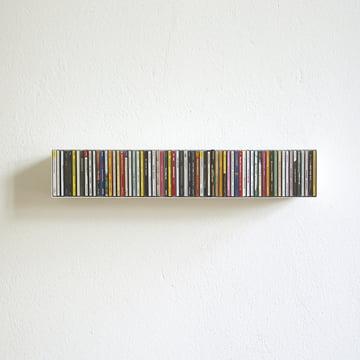 linea1 b CD-shelf in white