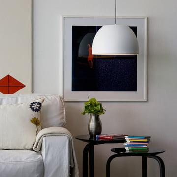 Bossa pendant lamp, white