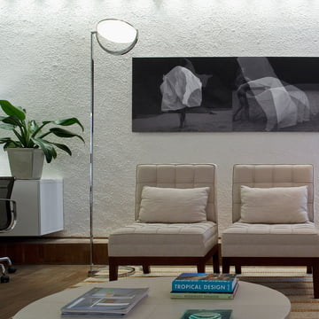 Luna F Floor Lamp QT14 - ambience