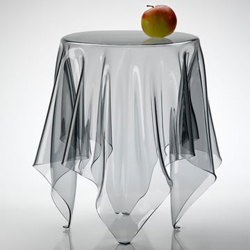 Illusion side table- transparent
