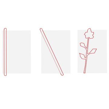 side by side - Loop Dishtowels - Sketch