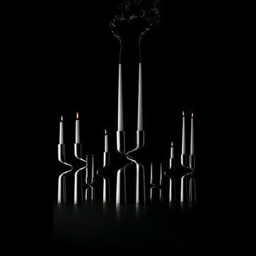 Elegant Candlestick: Menu Double