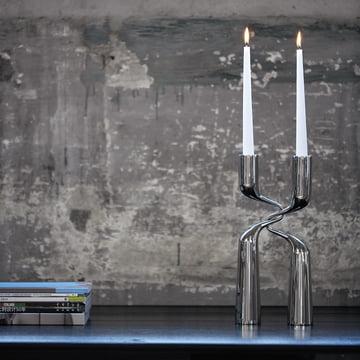 Elegant Double: Menu Double Candlestick