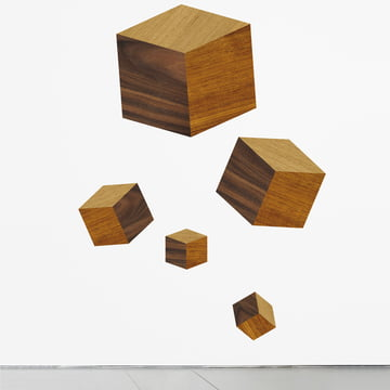 Domestic - Touche du Bois / Cubes Wall Sticker